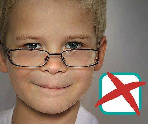 How Eyeglass Frames Should Fit : Childrens Eyecare in Minehead, Watchet & Dulverton ...